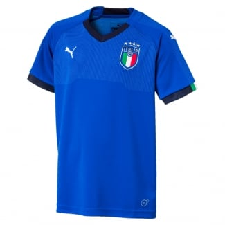 Italy Home Junior Jersey