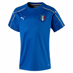 Italy Home Junior Short Sleeve Jersey