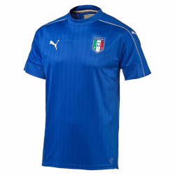 Italy Home Mens Short Sleeve Jersey