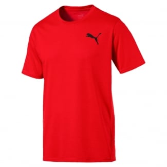 Mens Essential Puretech Heather Tee