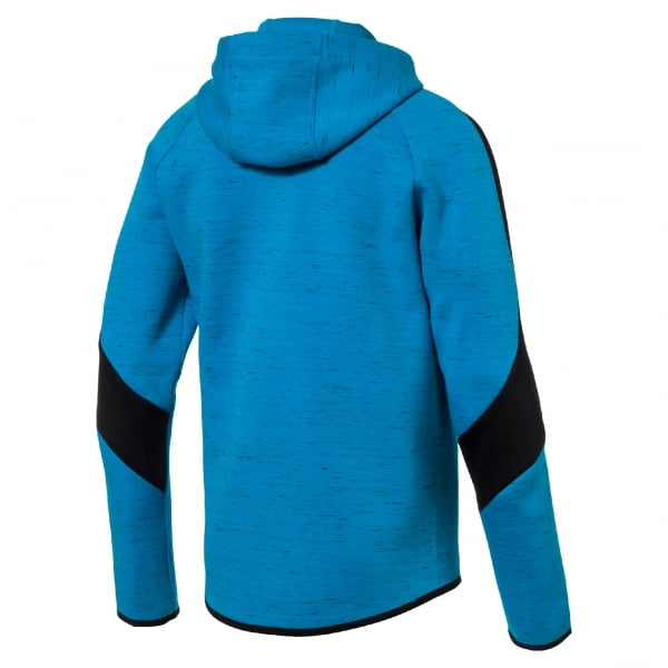 Puma Mens Evostripe Spaceknit Full Zip Hoody