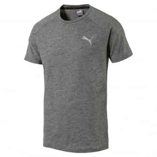 Mens Evostripe Spaceknit Tee