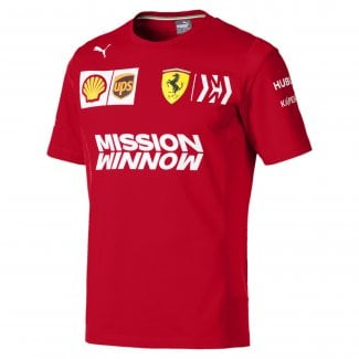 Mens Scuderia Ferrari Team T-Shirt