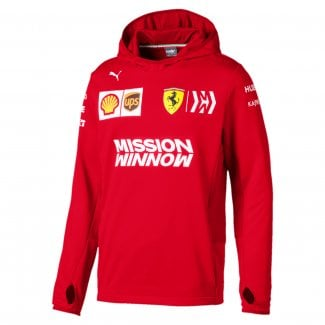 Mens Scuderia Ferrari Team Tech Fleece