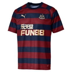 Newcastle United Away Mens Short Sleeve Jersey 2018/2019