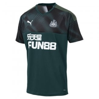 Newcastle United Away Mens Short Sleeve Jersey 2019/2020