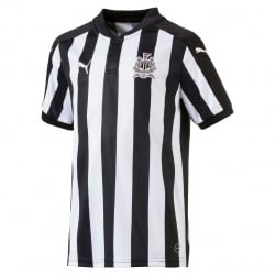 Newcastle United Home Junior Short Sleeve Jersey 2017/2018
