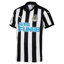 Newcastle United Home Mens Short Sleeve Jersey 2017/2018