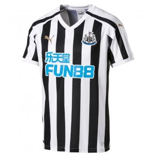 Newcastle United Home Mens Short Sleeve Jersey 2018/2019
