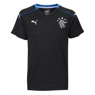 Rangers 3rd Junior Short Sleeve Top 2017/18