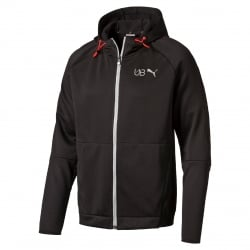 Usain Bolt Mens Evostripe Full Zip Hoody