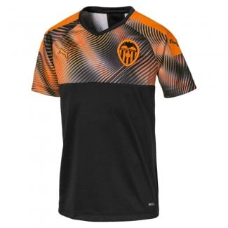 Valencia Away Junior Short Sleeve Jersey 2019/2020