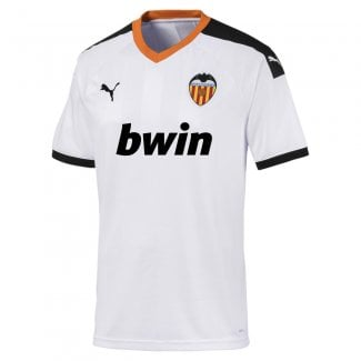 Valencia Home Mens Short Sleeve Jersey 2019/2020