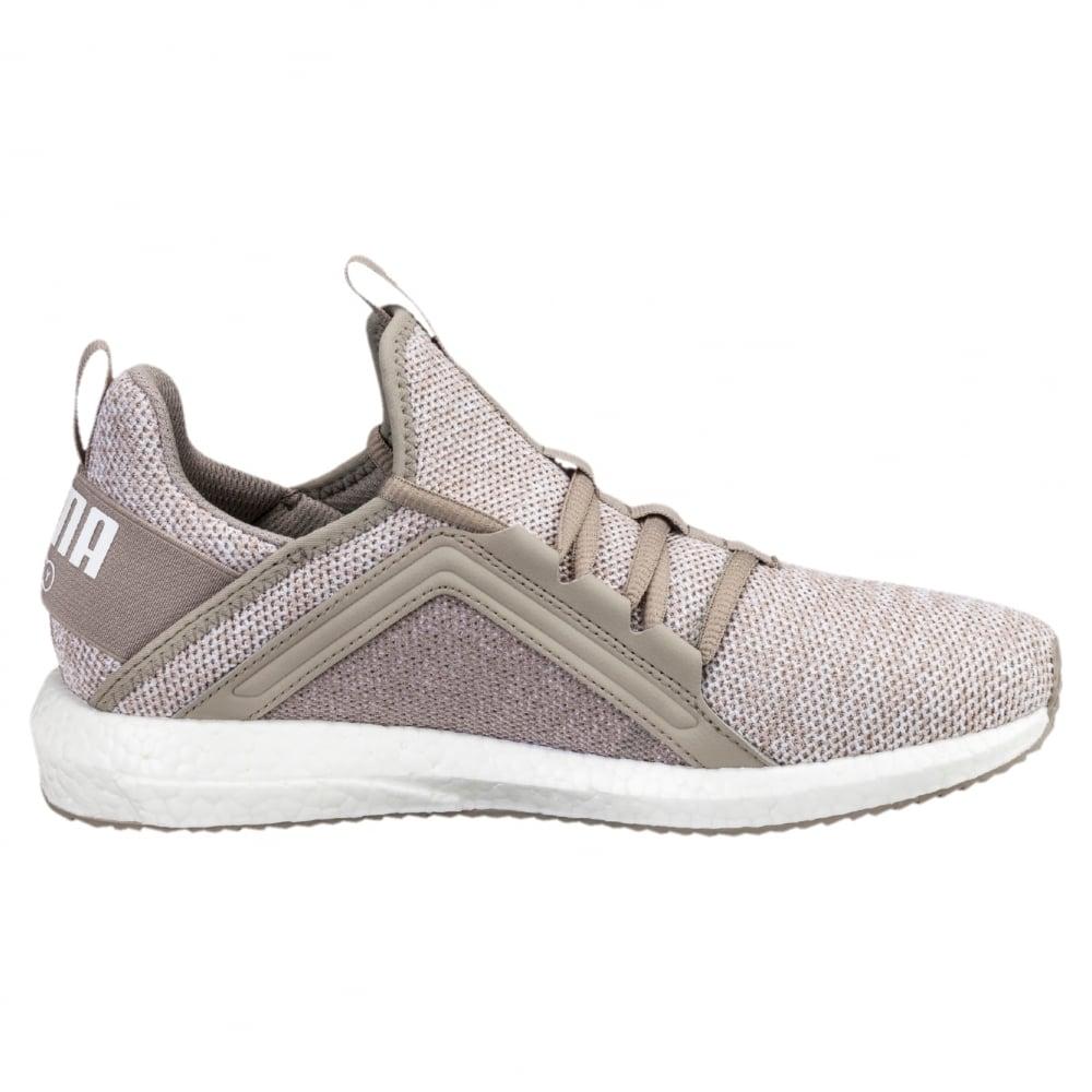 Puma Mega NRGY Knit Trainer in Grey