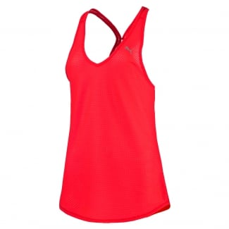 Womens Mesh It Up Layer Tank