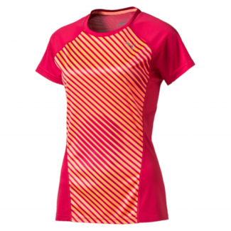 Womens Running Graphic Tee