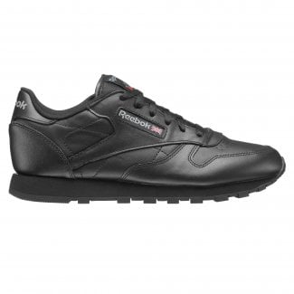 Womens Classic Leather Trainer