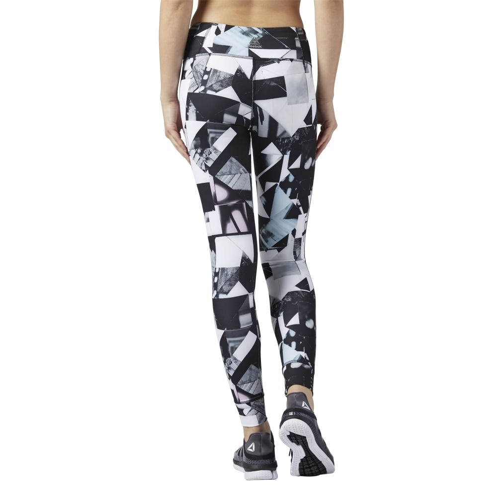 fcf4f8e6afbb6 Reebok Womens Lux Bold Tight - Photo Fold in Chalk | Excell Sports UK
