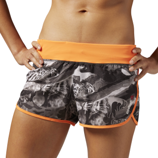 Womens One Series Crazy Camo Woven Short
