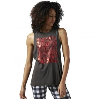 Womens Studio Favourites Foil Muscle Tee