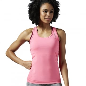 Womens Work Out Ready Fitted Tank