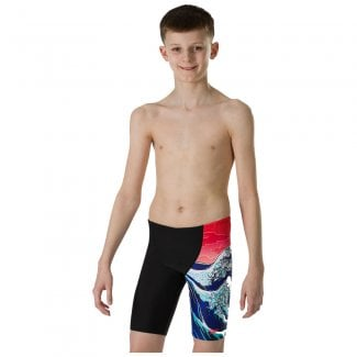 Boys OrigamiWave Allover V Cut Panel Jammer