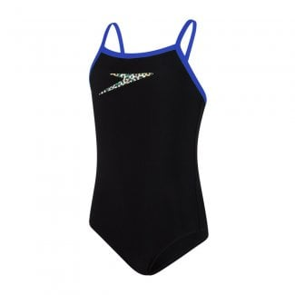 Girls Boom Thinstrap Muscleback Swimsuit