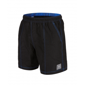 "Mens Check Trim Leisure 16"" Watershort"