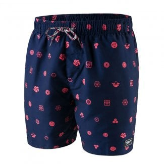 "Mens Printed Leisure 16"" Watershort"