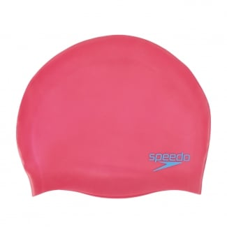 Plain Moulded Silicone Junior Swimming Cap
