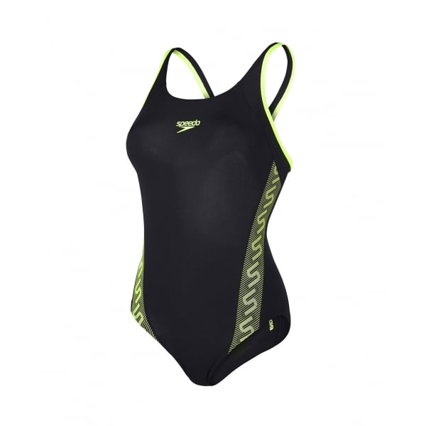 Speedo Womens Monogram Muscleback