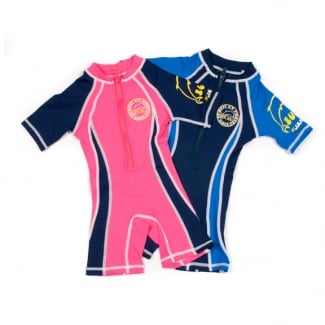 Front Zip Shorty Sunsuit