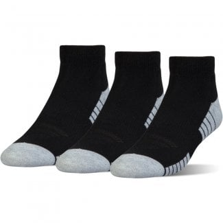 3-Pack HeatGear Tech Lo Cut Socks