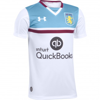 Aston Villa Away Mens Short Sleeve Jersey 2016/2017