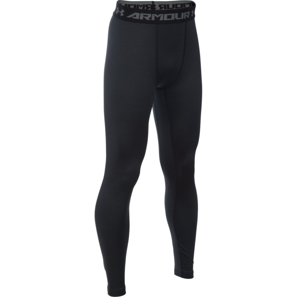 75fa1c7edf82ec Under Armour Boys ColdGear Armour Fitted Legging in Black | Excell Sports UK