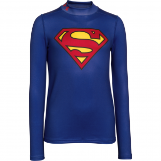 Boys ColdGear Armour Superman Mock