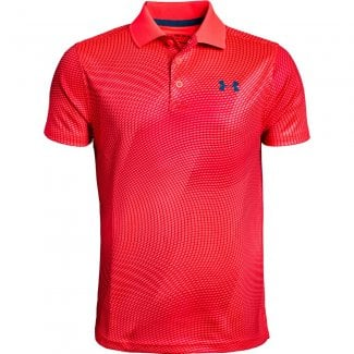 Boys Performance Polo Novelty