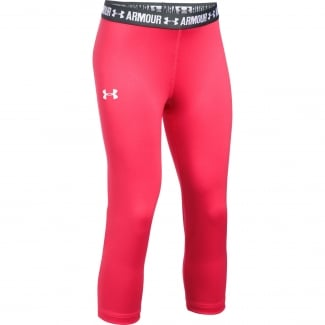 Girls HeatGear Armour Solid Capri