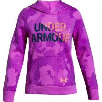 Girls Rival Fleece Wordmark Hoodie