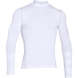 Mens ColdGear Armour Compression Mock