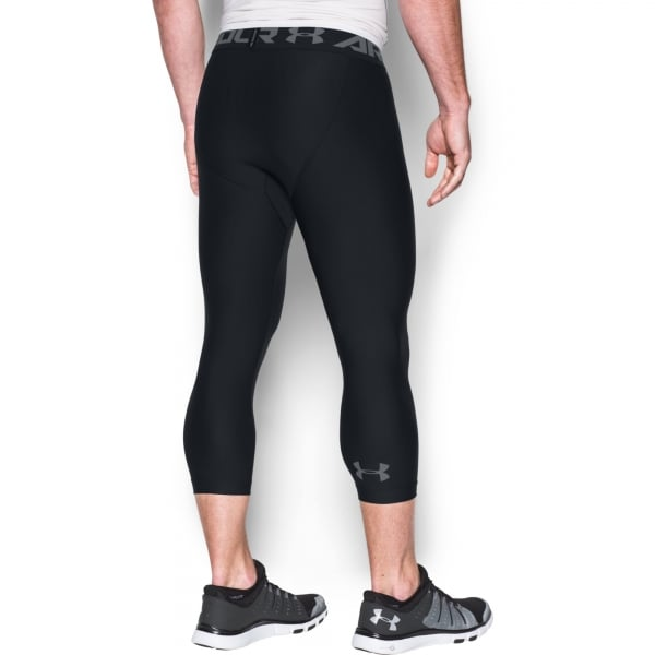 Under Armour Mens HeatGear Armour 3/4 Leggings