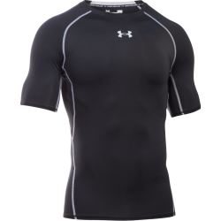 Mens HeatGear Armour Compression Shortsleeve Shirt