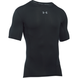 Mens HeatGear Armour Supervent Compression Shortsleeve Shirt