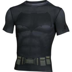 Mens HeatGear Batman Compression Shirt