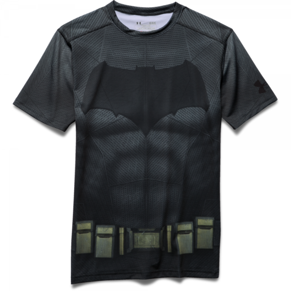 Under Armour Mens HeatGear Batman Compression Shirt