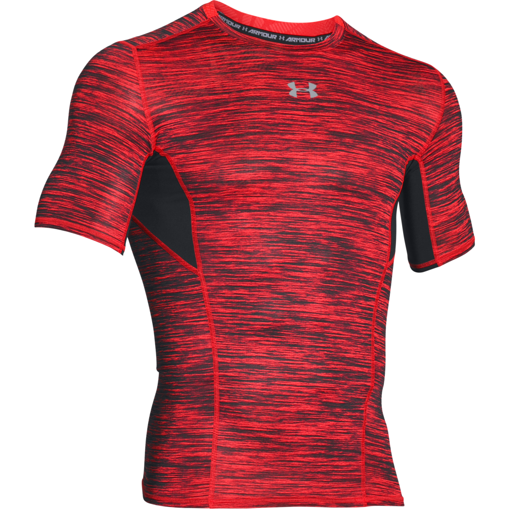 Under armour mens heatgear coolswitch compression for Under armour company shirts