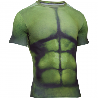 Mens HeatGear Hulk Compression Shirt
