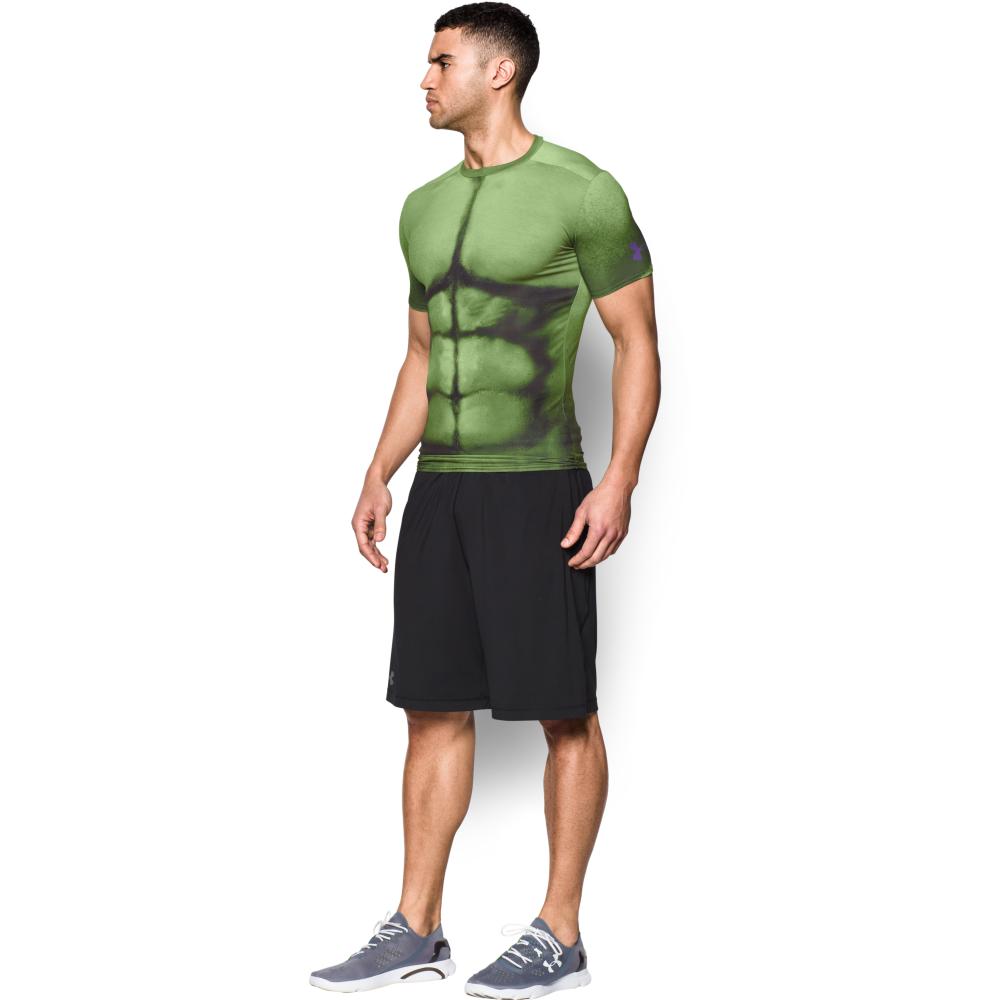 Under armour mens heatgear hulk compression shirt in for Hulk under armour compression shirt