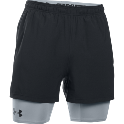 Mens HeatGear Mirage 2-in-1 Short