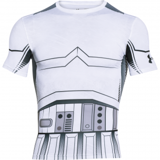 Mens HeatGear Trooper Compression Shirt
